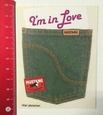 Aufkleber/Sticker: Original Mustang Jeans & Sportswear - I'm In Love (08051670)