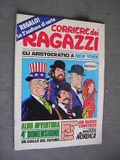 CORRIERE DEI RAGAZZI n. 41 - 13/10/1974 - ANNO III - OTTIMO - CON INSERTO