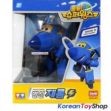 Super Wings JEROME Transformer Robot Toy Airplane Plane Korean Animation