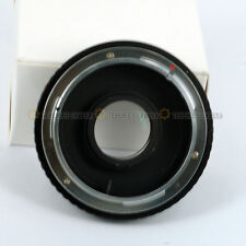 For CANON FD Lens to EOS Body Mount Adapter Ring Infinity focus FD-EOS w/ Glass