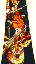 NEW Animal Deer Buck Hunting Hunter Outdoors Man Novelty Necktie Neck Tie Slved