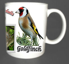 GOLDFINCH GARDEN BIRD MUG LIMITED EDITION XMAS GIFT NEW DESIGN, INC NEST, EGG