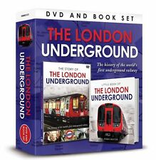 THE LONDON UNDERGROUND BOOK AND DVD GIFT SET - WORLDS FIRST UNDERGROUND RAILWAY