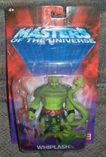 2002 He Man Masters of the Universe Whiplash Chase variant Figure NRFP Mattel