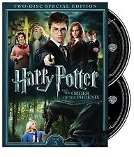 HARRY POTTER AND THE ORDER OF THE PHOENIX 2 DISC SPECIAL EDITION DVD