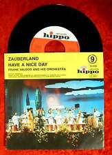 Single Frank Valdor: Zauberland / Have a nice day (Hippo 83 009) D
