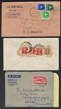 INDIA 1930 60 COLLECTION OF 12 COVERS MOSTLY TO US INCLUD A US FOREIGN SERVICE