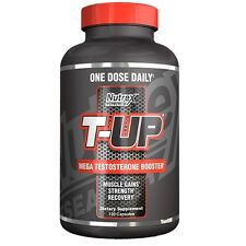 Nutrex T-UP Testosterone Booster D-Aspartic Acid PCT 120 capsules