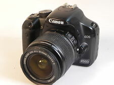 Canon EOS 450 D  mit EFS 18-55 mm IS