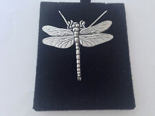 C3 Dragonfly on a 925 sterling silver Necklace Handmade 16 inch chain
