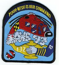 USCG Helicopter Geanie Rescue Squadron 132  - BC Patch Cat No. c7074