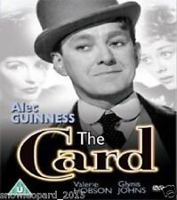 The Card DVD 1952 Alec Guinness Petula Clark New and Sealed UK Release R2