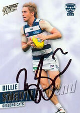 Signed 2013 GEELONG CATS AFL Card BILLIE SMEDTS