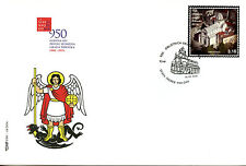 Croatia 2016 FDC City of Sibenik 950th 1v Cover Architecture Buildings Stamps