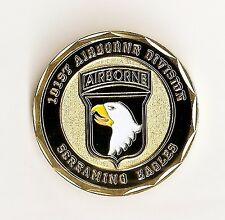US Army 101st  Airborne Division Screaming Eagles Challenge  Coin