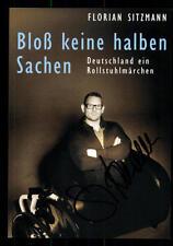 Florian Sitzmann Bloß keine halben Sachen Autogrammkarte Original  ## BC 45271