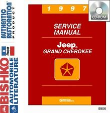 1997 Jeep Grand Cherokee Shop Service Repair Manual CD Engine Drivetrain Wiring