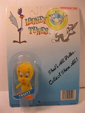 LOONEY TUNES TWEETY BIRD ACTION FIGURE 1988 LUCKY BELL WARNER MINT SEALED CARD