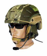 """Ballistic IIIA Bullet Proof High Cut Helmet + DISK + cover """"Ukr. pixel"""""""