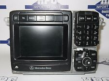 RADIO / CD PLAYER NAVIGATION GPS MERCEDES S500 S-CLASS 01 02 OEM