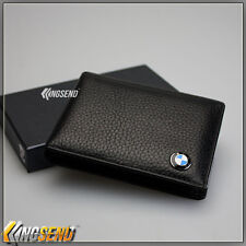 BMW Genuine Leather Driver's License Holder Car Driving Wallet Credit Card Case