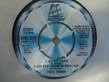 STEVIE WONDER EP 45t MOTOWN ALL DAY SUCKER EASY GOIN SATURN EBONY EYES