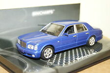 Bentley Arnage T 2003 blau 1:43  Minichamps neu & OVP 436139070