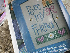 bee my friend cross stitch CHART PATTERN ONLY ch78