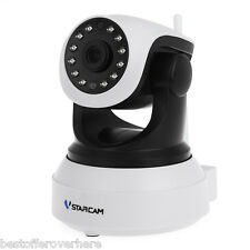 Hot Vstarcam HD  Wireless IR-Cut Night Vision Audio Recording Network Camera
