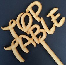 "Non associate DISNEY CAVALLETTO ""TAVOLO"" Sign MDF in legno Nozze Deco parti Craft"