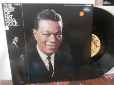 "nat king cole""the best of"".lp12""capitol:ger.."
