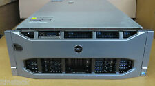 DELL PowerEdge r910 40xeon Cores 4 x 10 Core e7-8867l 1024gb RAM SERVER RACK MOUNT