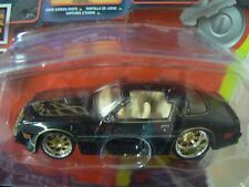 10Vox Tracksters 1978 Pontiac Trans Am 1:64 Series 2 Limited Edition Black Car