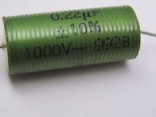 ERO ROEDENSTEIN   0.22 uf 1000VDC NOS CAPACITOR  211 845 300B PX25
