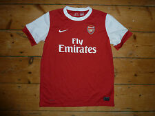Età 13-15 anni ARSENAL FC HOME SHIRT JERSEY 2010 Stagione Arsenal Football Top