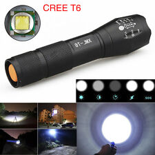 8000Lumens CREE XM-L T6 LED Flashlight Zoomable Waterproof 18650 Torch Lamp G700