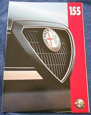 Alfa Romeo 155 Prospekt 1993 Deutsch Brochure Depliant no book buch press
