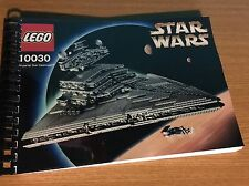 Custom Manual per make LEGO STAR WARS 10030 - Imperial Star Destroyer™ -
