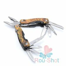 Hot Outdoor Multi-Functional Folding Stainless Steel Pocket Plier Knife Wood Saw