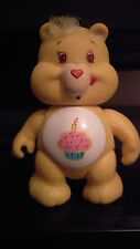 "ORIGINAL AGC 3"" POSEABLE BIRTHDAY CARE BEAR MODEL FIGURE 1983"