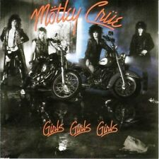 MOTLEY CRUE - Girls, Girls, Girls - Remastered 180 Gram LP - Sealed new copy