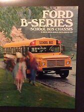 1971 Ford B-Series School Bus Sales Brochure