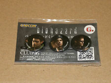 Resident Evil BIOHAZARD HD Remaster Japan Promo Limited Pin / Badge Set