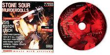 ROCK SOUND MAGAZINE CD VOL 40 MUSIC WITH ATTITUDE (STONE SOUR,MURDER DOLLS,ISIS,
