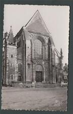 Le Mans. Le Cathedrale St. Julien Facade Ouest Style Roman RP    postcard ab27