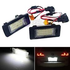 2pcs Error Free LED License Plate Light Lamps For Volkswagen Jetta Passat Sharan