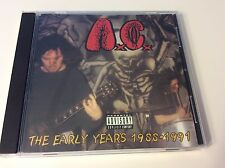 ANAL CUNT THE EARLY YEARS 2CD ORIGINAL FIRST PRESS RARE AC MEAT SHITS