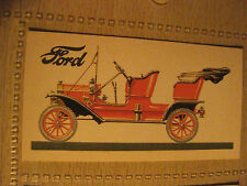 FORD MODEL T 2.9l 1908 BROOKE BOND TEA CARD History of Motor Car # 11