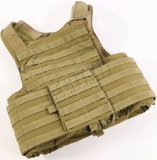 Eagle Industries LAND CIRAS Plate Carrier Armor Vest MEDIUM Coyote Brown Navy