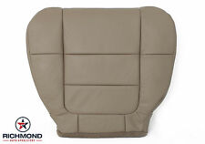2001 2002 Ford F150 Lariat SuperCab -Driver Side Bottom Leather Seat Cover TAN